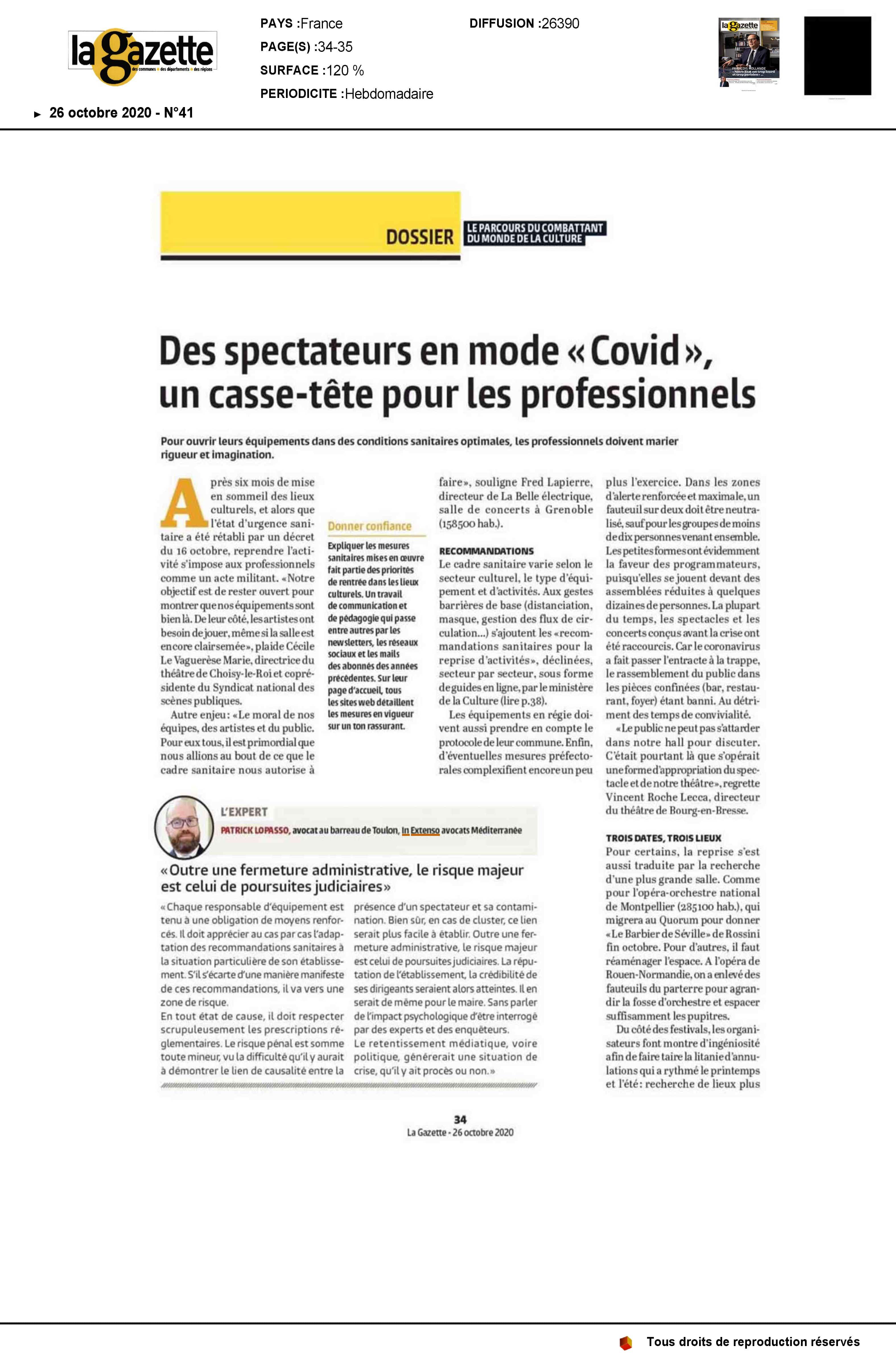 Article-Patrick-Lopasso-Gazette-des-communes-risques-juridiques-lieux-accueillant-du-public-COVID
