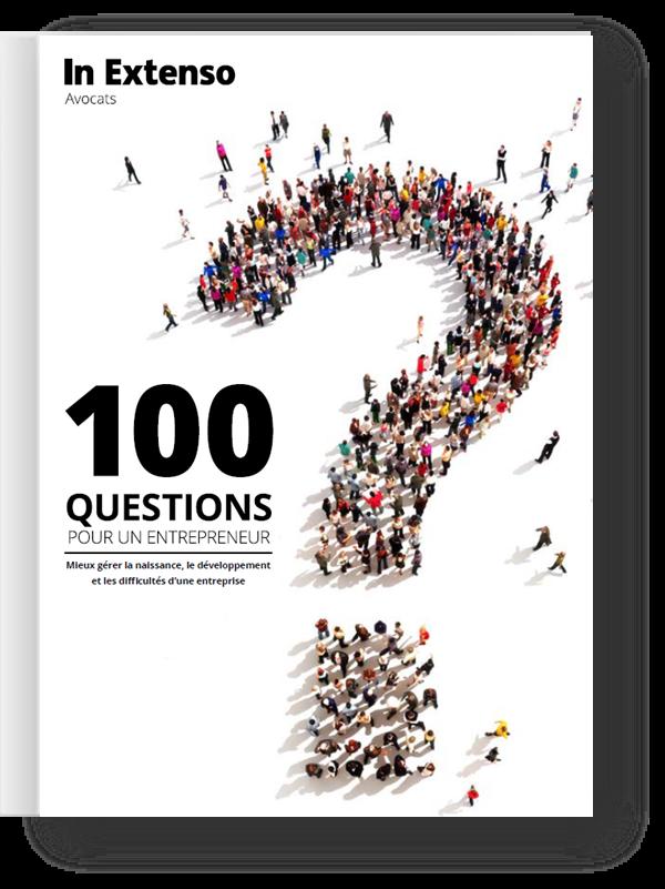 Livre blanc 100 questions juridiques de l'entrepreneur